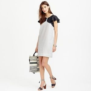 J. Crew • Linen Dip Dyed Dress
